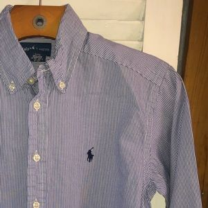 Youth Boys Classic Oxford Polo Button Down